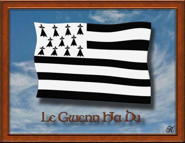 fond d'ecran gratuit drapeau breton