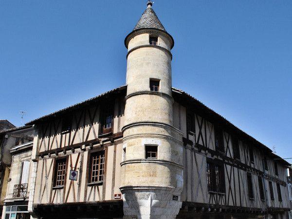 Photo de maison colombages de sainte foy la grande - Office du tourisme sainte foy la grande ...