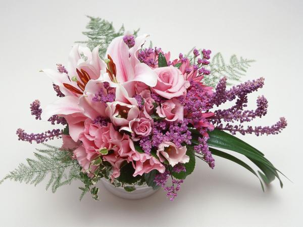 Tube (png) bouquet de fleurs