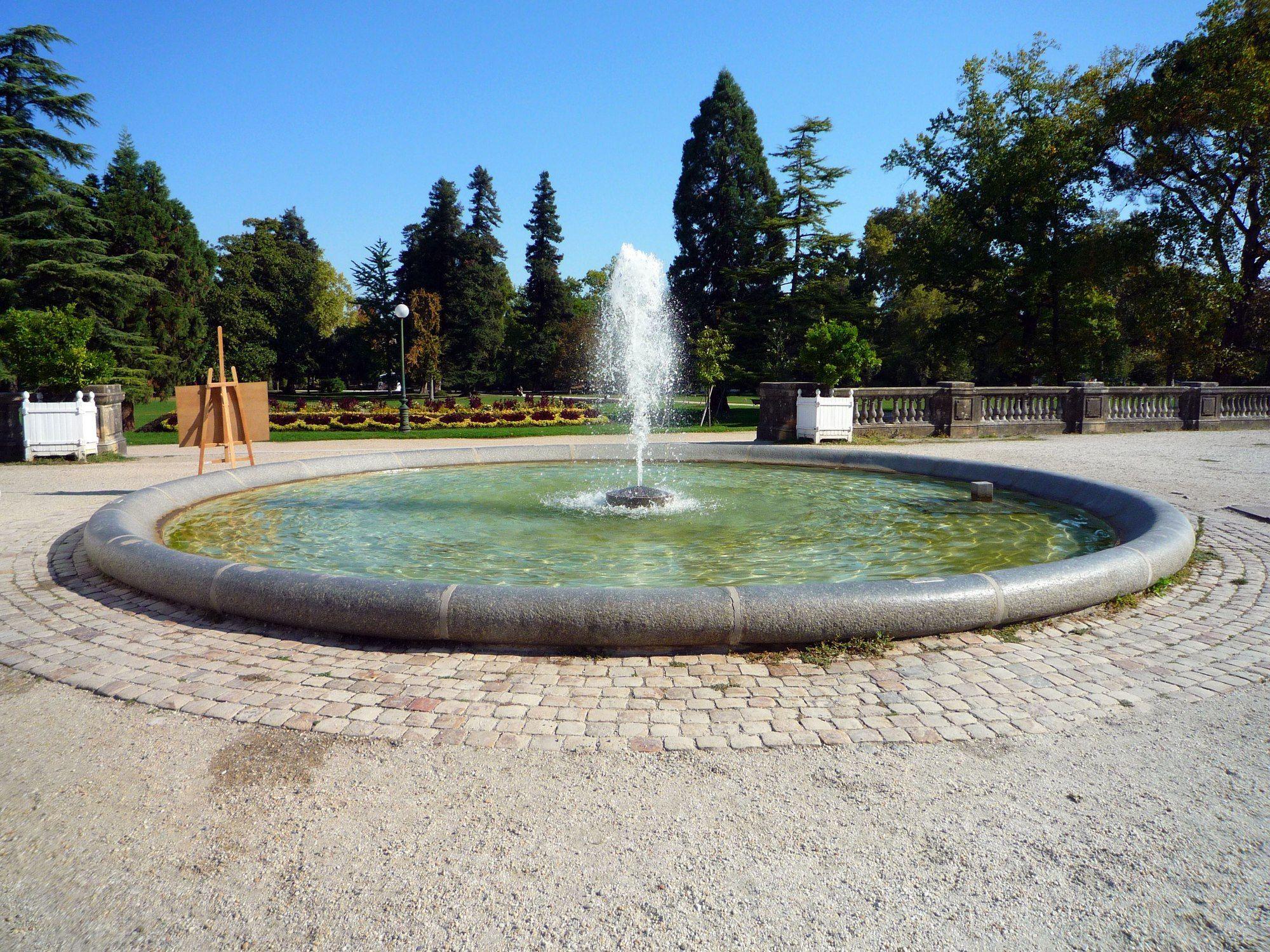 Photo du jardin public de Bordeaux