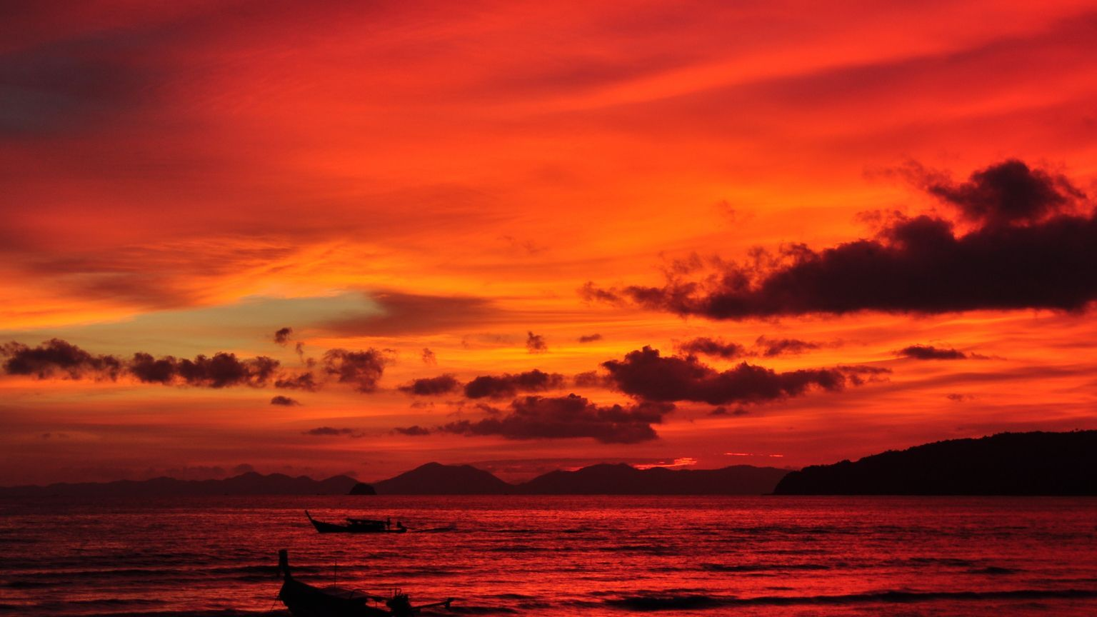 Fond d 39 cran de coucher de soleil - L heure du coucher du soleil aujourd hui ...